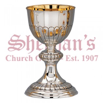 Traditional design Chalice and Dish paten