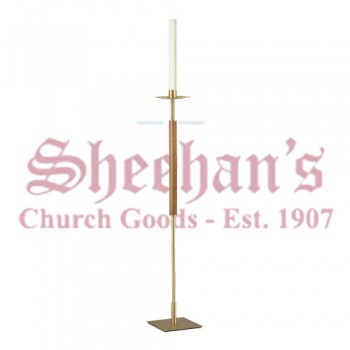 Processional Torches with Square Base - Pair