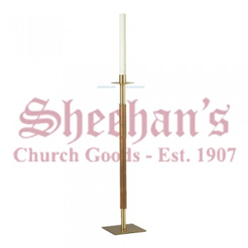 Paschal Candlestick with Square Base