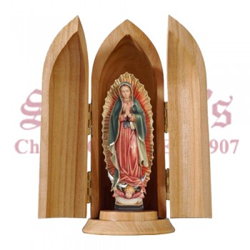 Our Lady of Guadalupe in Nische in Nische