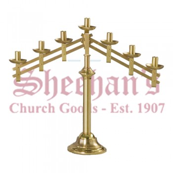 Table Top Candelabra in Polish and Satin Finish - Pair