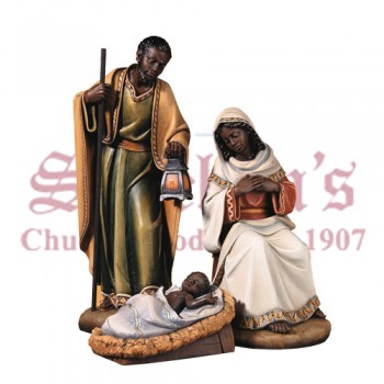 "Nativity Set ""Adua"" - African Features"