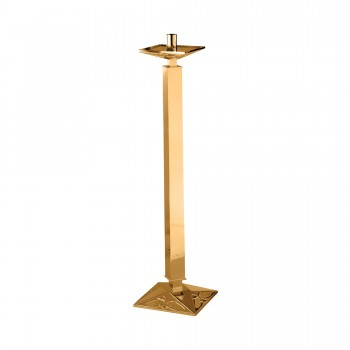 Paschal Candlestick with Large Square Base