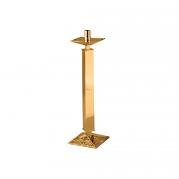 Paschal Candlestick with Ornate Square Base