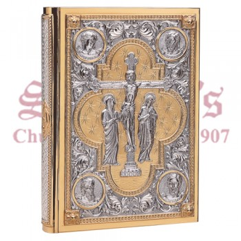Book Cover with Crucified Christ