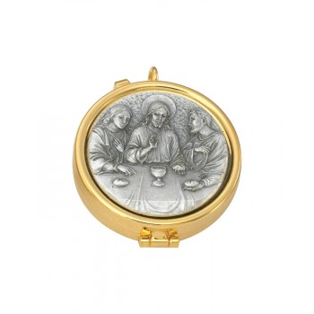 Pyx with Last Supper Medalion