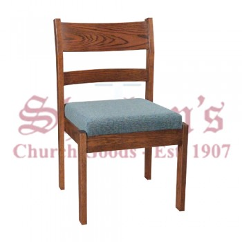 Simple Chair with Front/Rear Underseat Bookrack