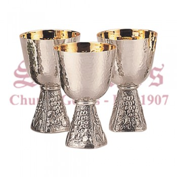 Grape and Wheat Serving Chalice