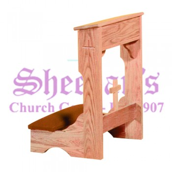 Kneeler with Cross