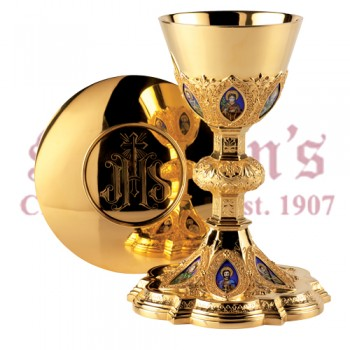 Twelve Apostles Chalice and Scale Paten