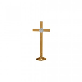 Altar Cross with Round Base