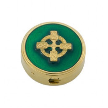 Pyx with Celtic Cross on lid
