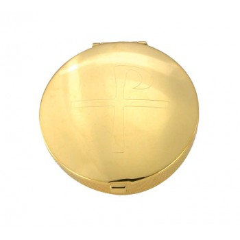 Pyx with Engraved Cross