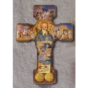 Life of Saint Benedict Cross - 9""