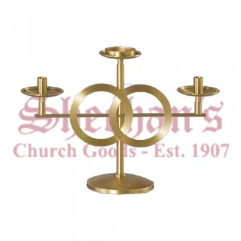 Wedding Candelabra in Satin Finish -EA