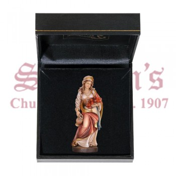 Saint Elizabeth Mini Wood Carve with Case
