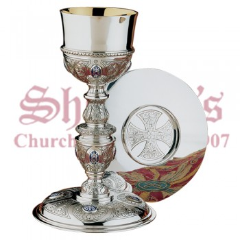 Plateresque Collection - Chalice, Paten and Ciboria