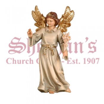 Angel Wood Carve Statue