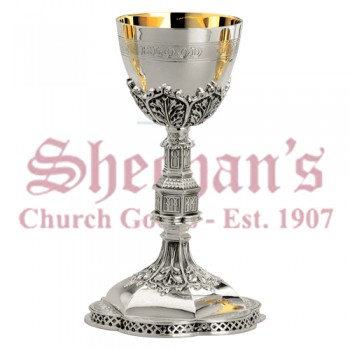 Silver Gothic Chalice