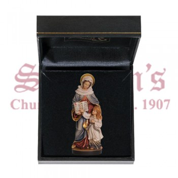 Mini Wood Carve St Anne with Case