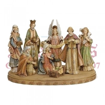 Nativity Scene with Base