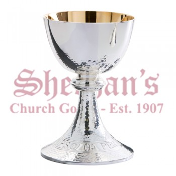 Silver Plate Chalice and Paten