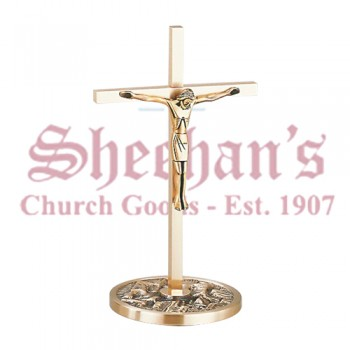 Altar Crucifix in Statuary Bronze Finish