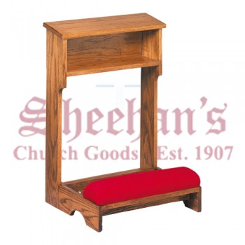 Prie Dieu with Padded Kneeler