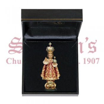 Infant of Prague with Gift Case