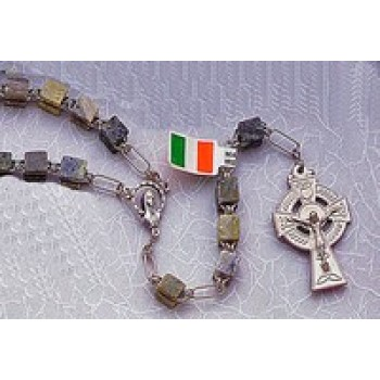 Connemara Marble Irish Rosary