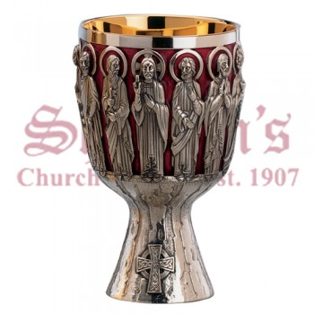 Christ and Apostles Chalice and Bowl