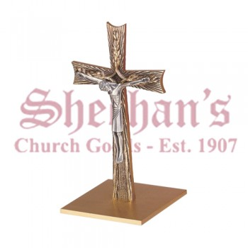 Altar Crucifix in Antique Bronze Finish