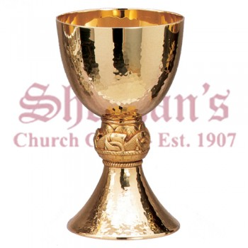 Fish and loaf Motif Chalice
