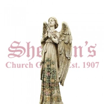 Praying Angel Garden Statue 24""