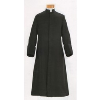 Anglican Cassock with Concealed Buttons / Zipper