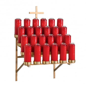 24 Lights - Bottle Votive Stand