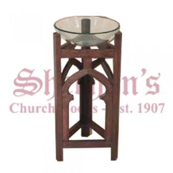 Artistic Baptismal Font with Fine Structure