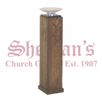 Holy Water Font with Removable Acrylic Basin