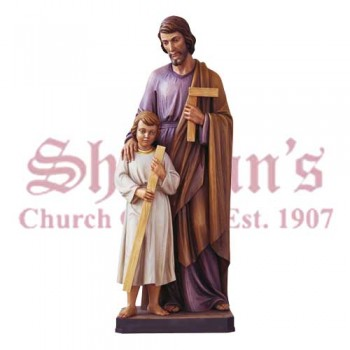 St. Joseph With Boy Jesus