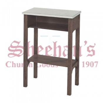 Credence Table with Almond Color Laminate Top