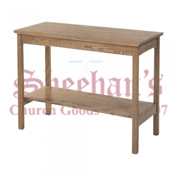 Credence Table in Solid Oak