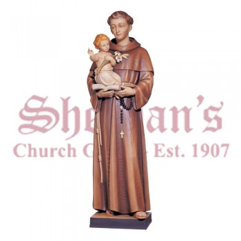 Anthony of Padua Statue with the Child Jesus