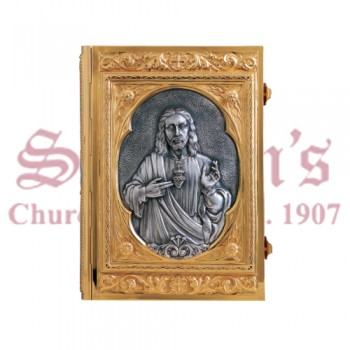 Classic Brass Two Tone Book of Gospels