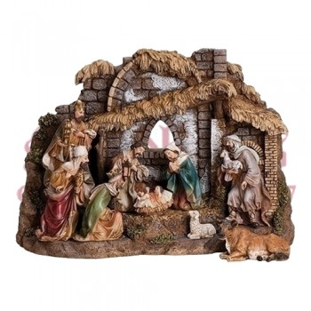 Ten Piece Nativity Set