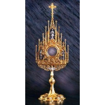 Monstrance with Matching Case