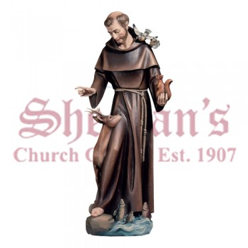 St. Francis Of Assisi With Animals