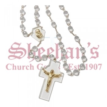 Crystal Look Wall Rosary