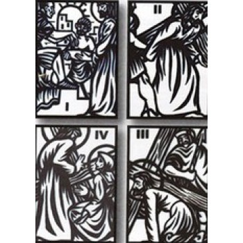 Scrimshaw Styled Stations of the Cross