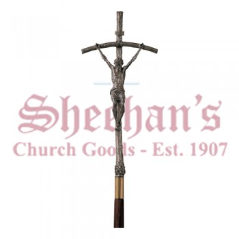 Processional Cross  - Cast In Aluminum
