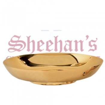 Gold Plated Small bread plate